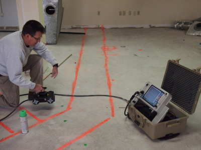 CONCRETE SCANNING/STRUCTURAL IMAGING